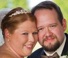 On Our Wedding Day! October 23, 2010.