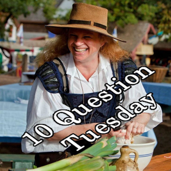 Alice the Cook's 10 Questions