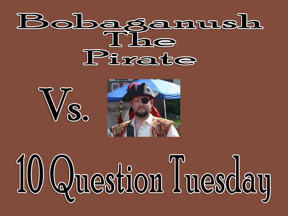 Bobaganush Answers the 10 Questions