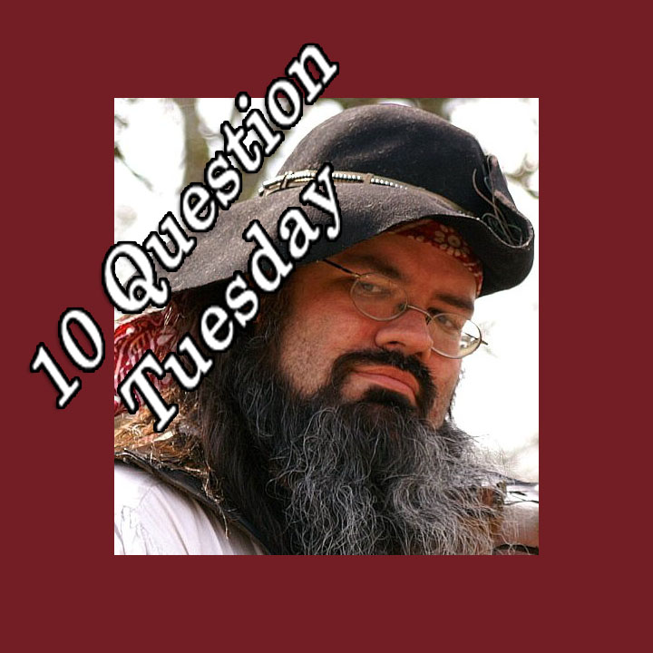Cedric from the Bedlam Bards Takes on the 10 Questions