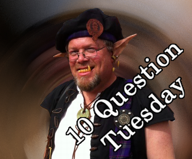 Ebenezer Grumpypants and the 10 Questions